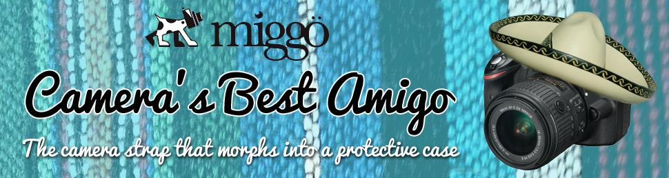 miggo camera strap and wrap range
