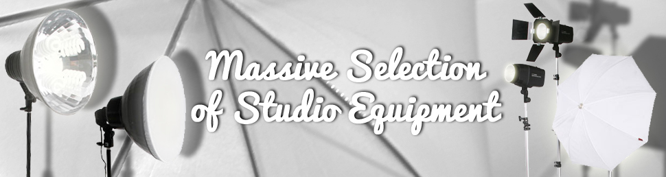 wide range of studio equipment
