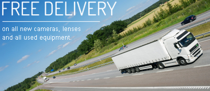 free delivery at harrison cameras
