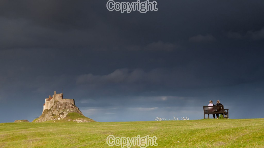 Mike Morley. Storm watching at Lindisfarne Castle on Holy Island in Northumberland. Equipment: Canon 5D MKII D-SLR, 24-105mm lens & Tripod. ISO: 1250 Aperture: f18.