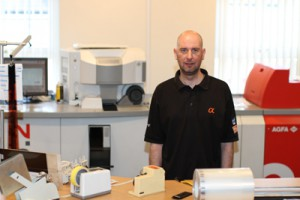 Lee 'The Lab Guy' Gribbin Not only can he print your <a class=
