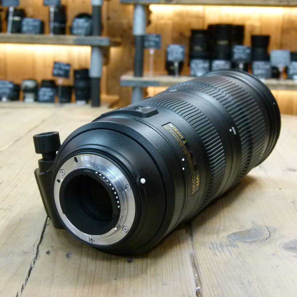 used nikon af s 200 500mm f5 6 e ed vr lens used af. Black Bedroom Furniture Sets. Home Design Ideas