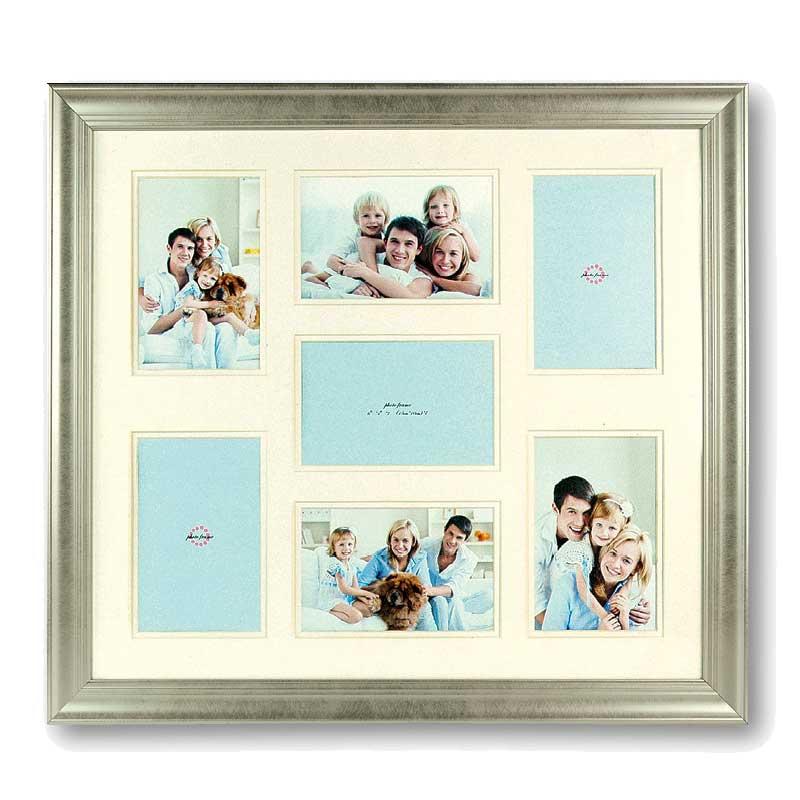 dakota multi aperture photo frame for 7 6x4 photos photo. Black Bedroom Furniture Sets. Home Design Ideas
