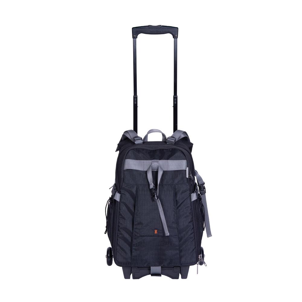 dorr dark black travel small trolley backpack with wheels backpacks bags harrison cameras. Black Bedroom Furniture Sets. Home Design Ideas