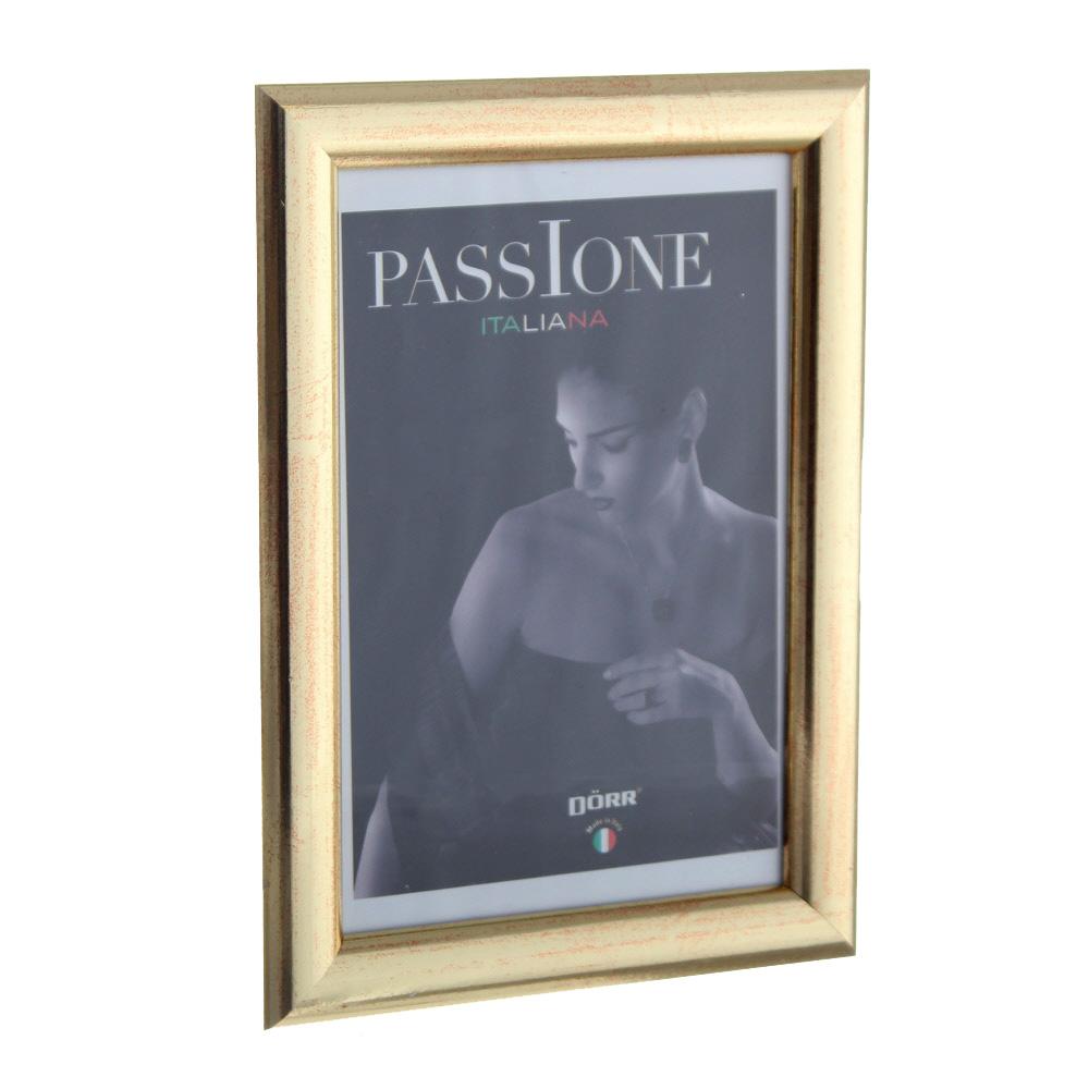 dorr guidi gold wooden 6x4 photo frame photo frames. Black Bedroom Furniture Sets. Home Design Ideas