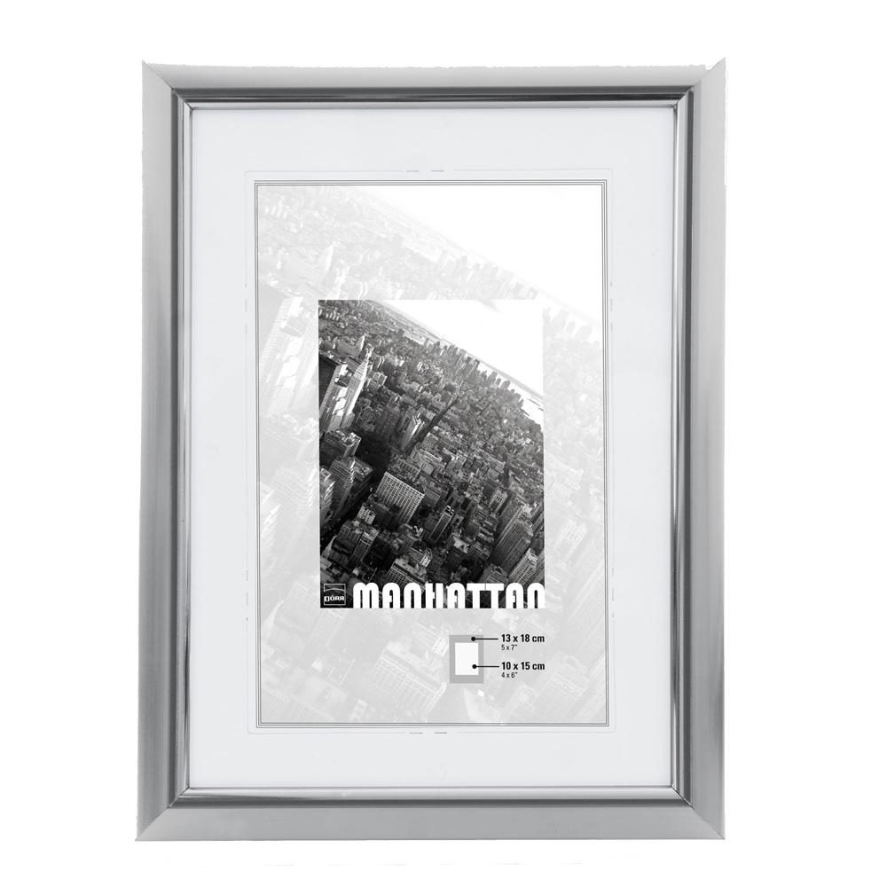 dorr manhattan silver 6x4 photo frame photo frames. Black Bedroom Furniture Sets. Home Design Ideas
