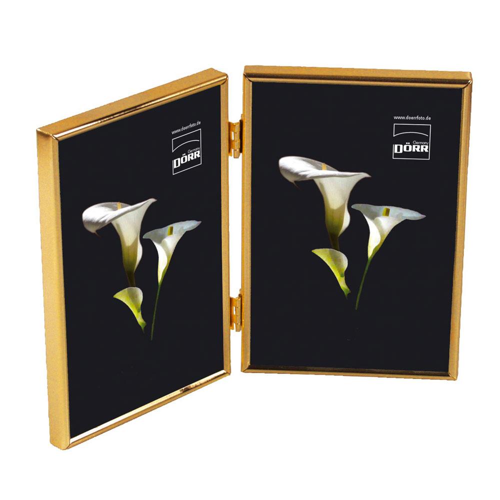 silverstar toskana twin gold 6x4 photo frame photo. Black Bedroom Furniture Sets. Home Design Ideas