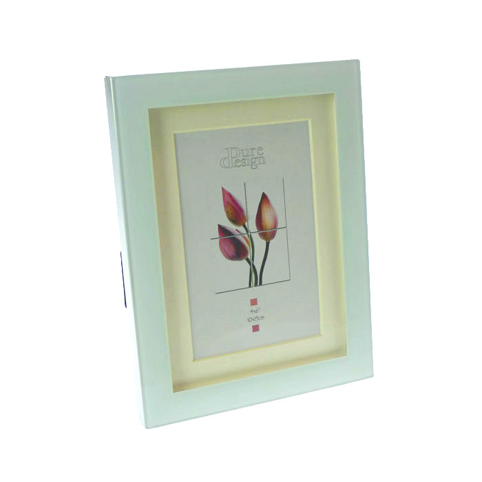 cairo glass 6x4 photo frame photo frames albums. Black Bedroom Furniture Sets. Home Design Ideas
