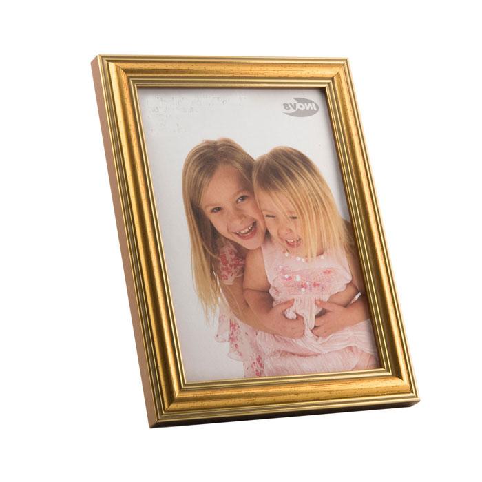 gold 6x4 photo frame photo frames albums frames. Black Bedroom Furniture Sets. Home Design Ideas