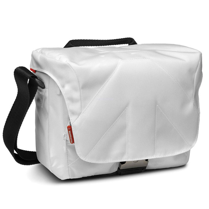 White Shoulder Camera Bag 24
