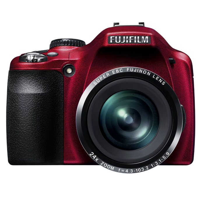 Fujifilm FinePix SL240 Red Bridge Digital Camera