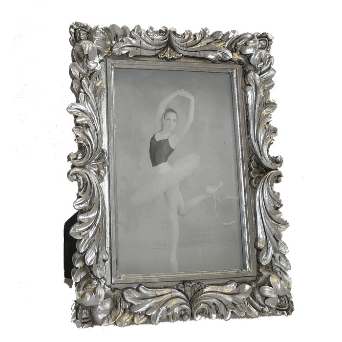walther saint germain antique silver 6x4 photo frame. Black Bedroom Furniture Sets. Home Design Ideas