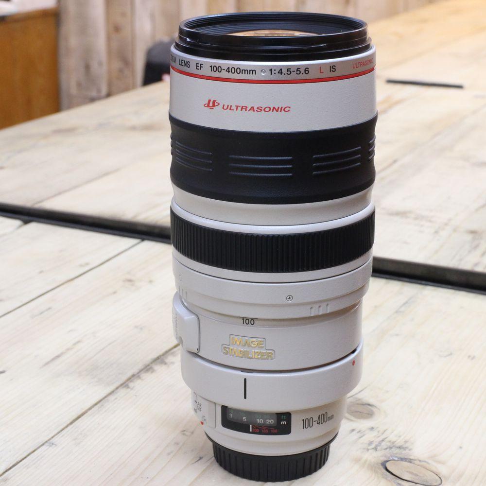 used canon ef 100 400mm f4 5 5 6 l is usm lens used af. Black Bedroom Furniture Sets. Home Design Ideas