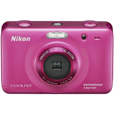 Nikon Coolpix S30 Pink Digital Camera - Digital Compact