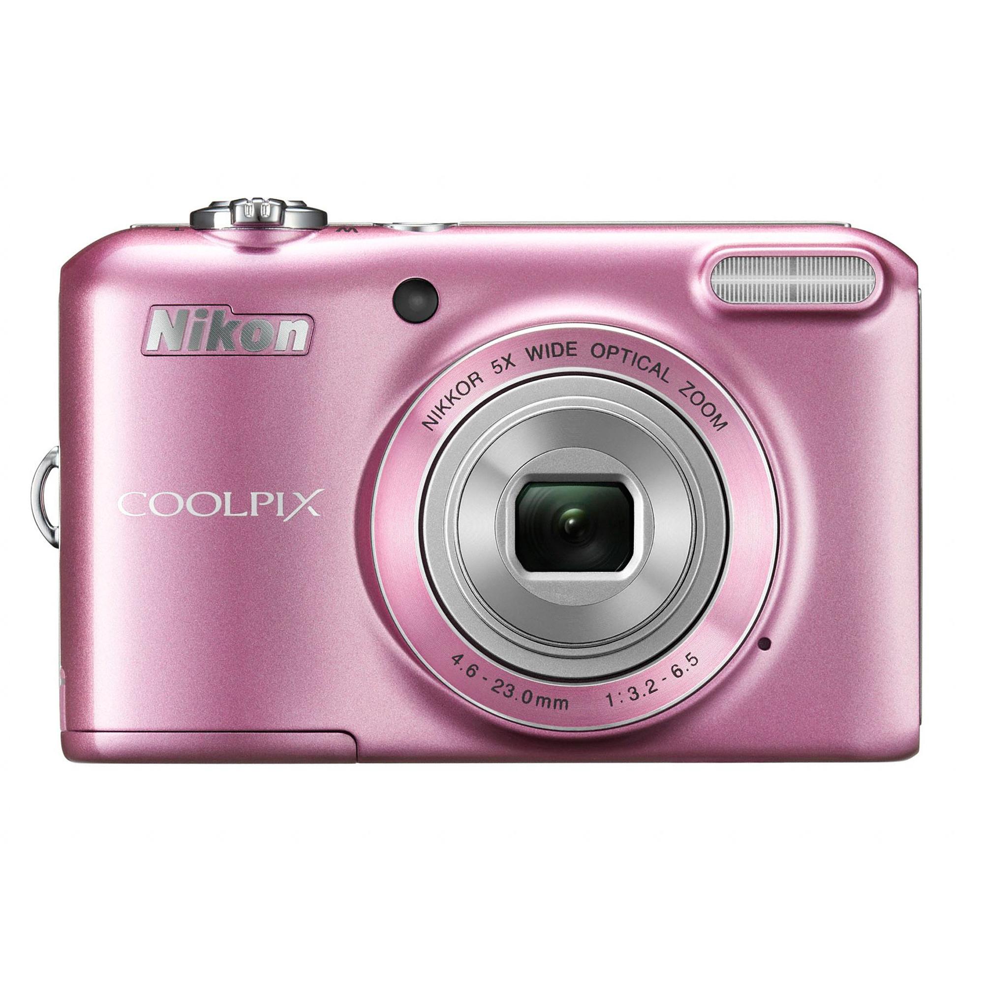 Nikon Coolpix L28 Pink Digital Camera - Digital Compact