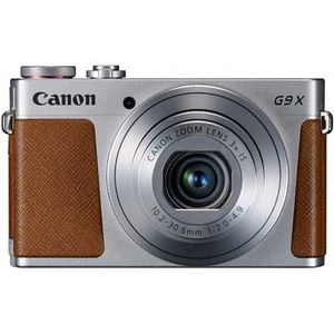 Canon PowerShot G9 X Silver Digital Camera