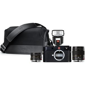 Leica M (Typ 262) Black Rangefinder Entry Set inc 35mm and 75mm f2.4 ASPH, SF-40 & Case