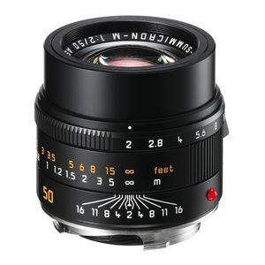 Leica M 50mm F2 APO-Summicron Asph 6-bit Black Lens 11141