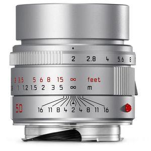 Leica 50mm f2 Apo-Summicron-M Asph Silver Lens