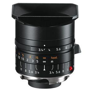 Leica M 21mm F3.4 Super Elmar Black Lens 11145