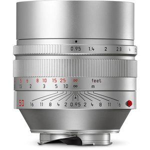 Leica Noctilux-M 50mm f0.95 ASPH Silver Lens 11667