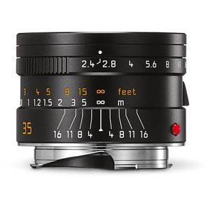 Leica Summarit-M 35mm F2.4 ASPH Black Lens 11671