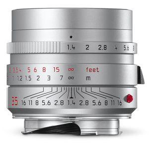 Leica M 35mm F1.4 Summilux Asph 6-bit Silver Lens 11675