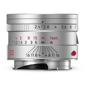 Leica Summarit-M 50mm F2.4 Silver Lens 11681