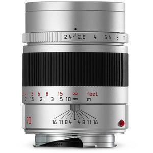 Leica Summarit-M 90mm F2.4 Silver Lens 11685