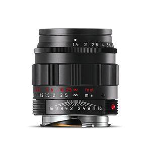 Leica Summilux-M 50mm F1.4 Summilux Asph Black Chrome Lens
