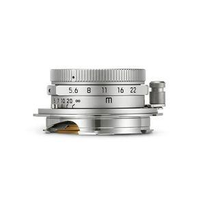 Leica Summaron-M 28mm f/5.6 ASPH Silver Chrome Lens