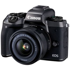 Canon EOS M5 Digital Camera with 15-45mm Lens and EF-EOS M Mount
