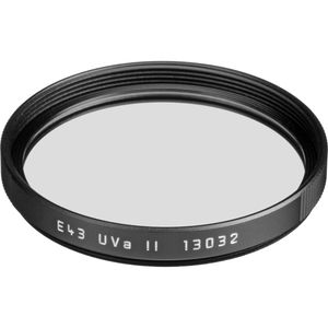Leica 43mm UVa II Black Filter