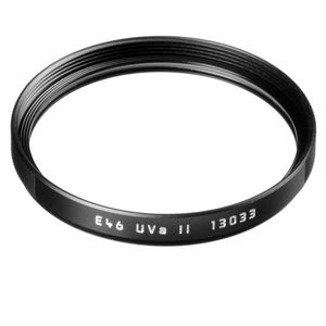 Leica 46mm UVa II Black Filter 13033