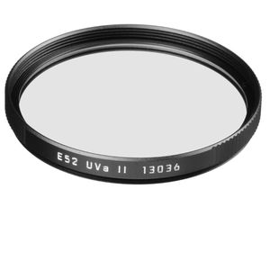 Leica 52mm UVa II Black Filter