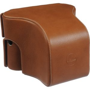 Leica Ever Ready Case Small Front for Leica M (240) Cognac 14549