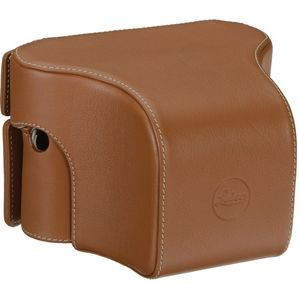 Leica M/M-P (Typ 240) Cognac Ever Ready Case - Small Front