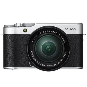 Fujifilm X-A10 Black Digital Camera with XC 16-50mm f3.5-5.6 OIS II Lens
