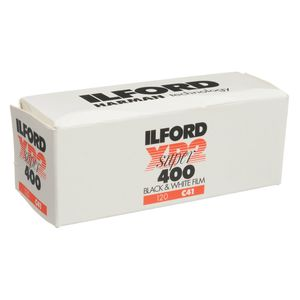 Ilford XP-2 Super 400 Black and White 120 Roll Film C41 Process