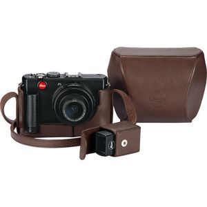 Leica D-LUX Brown ERC System Leather Case 18708