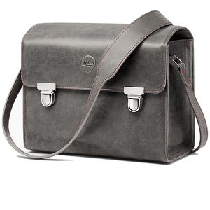 Leica T Leather System Bag Stone Grey