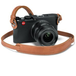 Leica X Vario Brown Leather Carrying Strap 18777