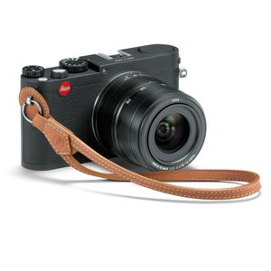 Leica X Vario Brown Leather Wrist Carrying Strap 18783