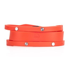 Leica T-Neck Silicon Orange Red Camera Strap 18814