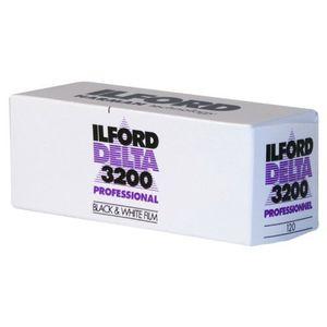 Ilford Delta 3200 Black & White 120 Roll Film