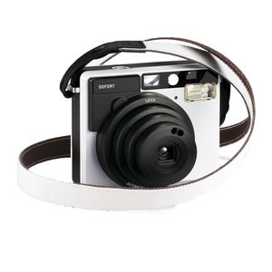 Leica Sofort White and Black Carrying Strap
