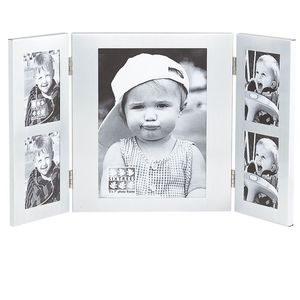 Sixtrees Dylan Matt Silver Collage 5x7 and 4 2x3 Photo frame