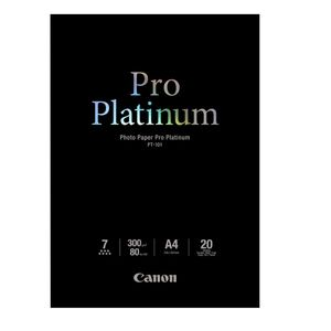 Canon PT-101 A4 Photo Paper Pro Platinum - 20 Sheets