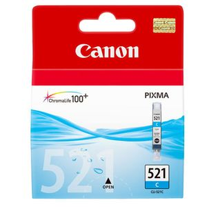 Canon CLI-521 Cyan Printer Ink Cartridge