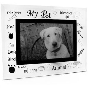 Sixtrees My Pet Glass and Mirror 6x4 Photo Frame
